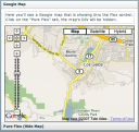 Embed Google Map in Flex
