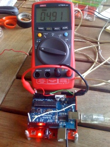 Power GM862 from Arduino's 5V output